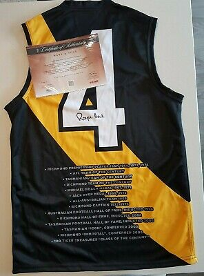 AU199 • Buy Brand New Royce Hart Hand Signed Richmond Tigers  Hart And Soul Jumper