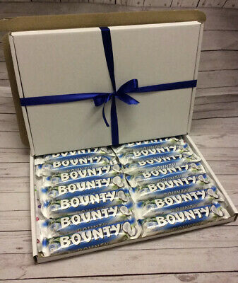 Bounty Chocolate Large Gift Hamper Box Personalised Birthday Mother'sDay • 14.99£