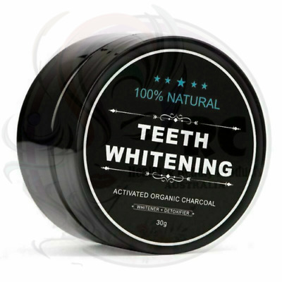 AU25.65 • Buy 2x Teeth Whitening Activated Organic Charcoal Coconut Powder 100% Natural 30g