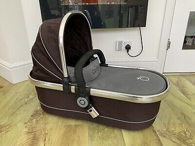 ICandy Peach Carrycot With Rain Cover - Excellent Condition • 10.50£