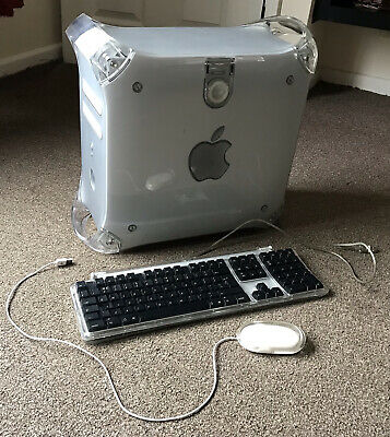 Apple IMac G4 Desktop Computer Tower With Keyboard And Mouse • 51£