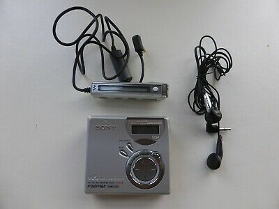 SONY MZ - NF610 MINIDISC PLAYER With AM/FM Radio - EXCELLENT CONDITION • 120£