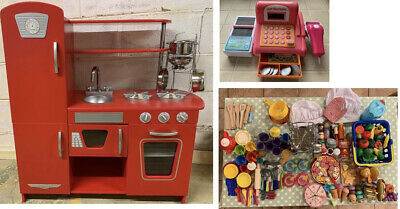 Early Learning Centre Wooden Kitchen Huge Bundle Kitchen Accessories Sheffield • 20£