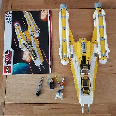Lego Star Wars Anakin's Y-wing Starfighter, Set 8037, Complete With Instructions • 60£