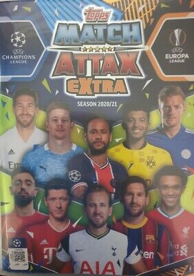 AU3.09 • Buy Topps Match Attax Champions League Extra 2020 2021 Limited Edition Club 100 Etc
