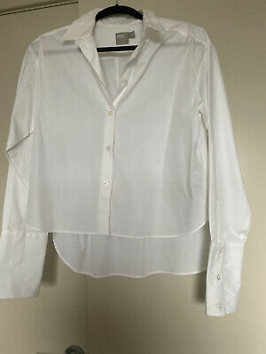 AU0.99 • Buy Asos Ladies White Button Up Blouse Shirt 10