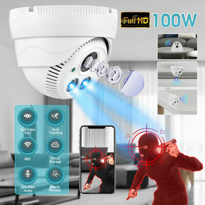 Wireless 1080P HD WiFi Indoor Dome IP Camera Home Security IR Night Vision CCTV • 24.88£
