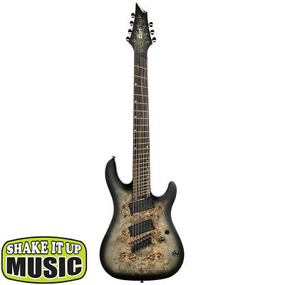 AU1299 • Buy Cort KX507MS Multi Scale 7 String Electric Guitar - Stardust Black