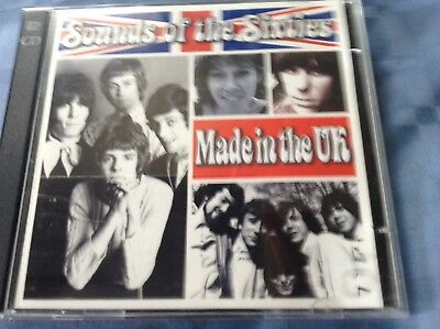 Time Life Sounds Of The Sixties-made In The Uk 2cd( Tlscc/09) • 21.66£