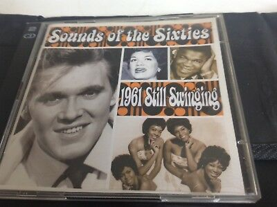 Time Life Sounds Of The Sixties 1961 Still Swinging 2cd Album • 21.61£