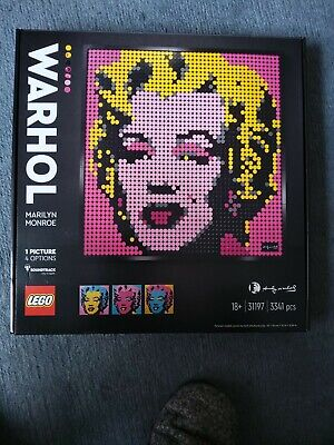 LEGO Andy Warhol's Marilyn Monroe (31197) Brand New Complete And Unopened • 51£