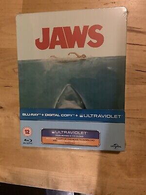 Jaws: Limited Edition Steelbook (2 Discs) 2012 Blu-ray Brand New & Sealed • 30£