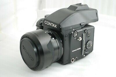 $ CDN6703.47 • Buy CLA'd CONTAX 645 Medium Format Film Camera T* 80mm F2 AE Finder Excellent #4137