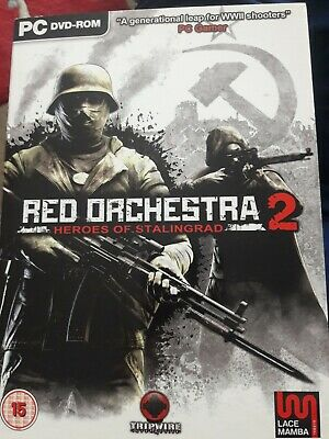 £3.50 • Buy Red Orchestra 2 Heroes Of Stalingrad PC DVD ROM Cw Outer Packaging  Mint