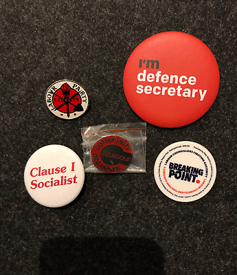 Various UK Labour Party Badges Pins, New • 3£