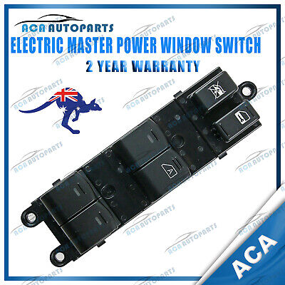 AU79 • Buy For Nissan Navara D40 2005-2014 Master Window Switch Front Right Thai Built