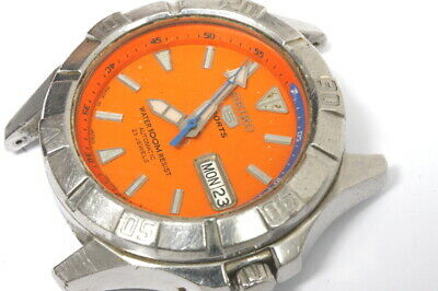 AU85.09 • Buy Seiko 7s36-01Z0 Automatic Watch , No Rotor, 3 Times Signed Movement  -11971