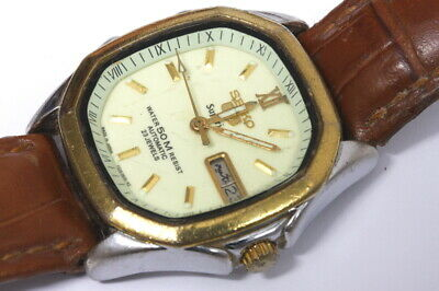 AU69.60 • Buy Seiko Superior 7s36-5000 Japan Automatic Watch ,7009A Movement For Repair -11976