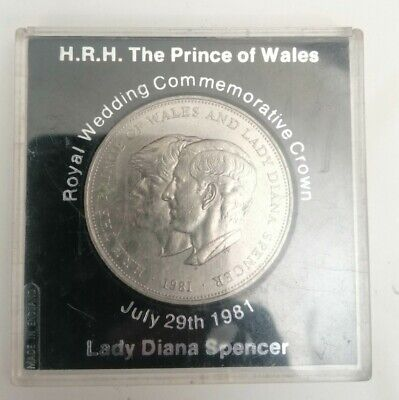 Lady Diana Spencer Royal Wedding Coin Collectable • 3£