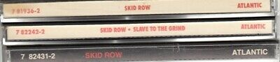 $ CDN6.94 • Buy Skid Row --Lot Of 3 CDs [1st 2 Albums & 1 EP] --Slave To The Grind 1st Release
