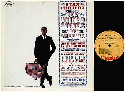STAN FREBERG Presents The United States Of America CAPITOL VINYL LP RECORDS • 1.43£