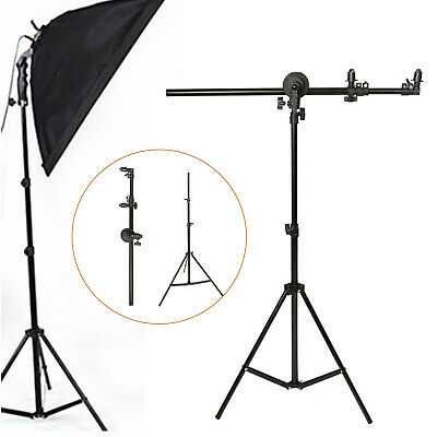 £29 • Buy Pro Collapsible Reflector Holder Boom Arm + 2m Photo Studio Light Stand Tripod