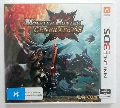 AU13.90 • Buy Monster Hunter Generations - Nintendo 3DS 2DS **FREE SHIPPING**