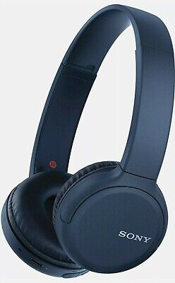Sony Wireless Bluetooth On Ear Headphones With Built-in Mic + XL Battery - Blue • 35£