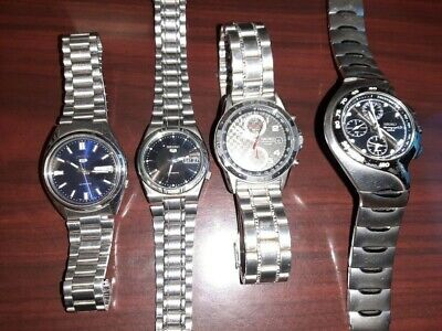 $ CDN84.80 • Buy Small Lot Of 4 Seiko Watches.  Great Deal!  L@@K!!