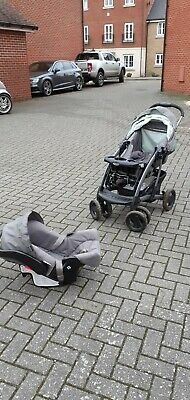 Graco Pram Travel System With 2 Car Seat Bases • 1£