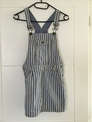 Fat Face Girls Dungaree Dress Age 10/11 Years • 1.30£