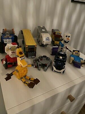 10 Incomplete Lego Sets Star Wars Giraffe Car Santa Olaf 4 With Instructions • 30£