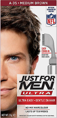 £11.49 • Buy Just For Men Autostop Hair Color Medium Brown A35