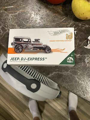 $8 • Buy Hot Wheels Jeep DJ-Express Mail Truck ID Car Limited Run Collectible New In Pack