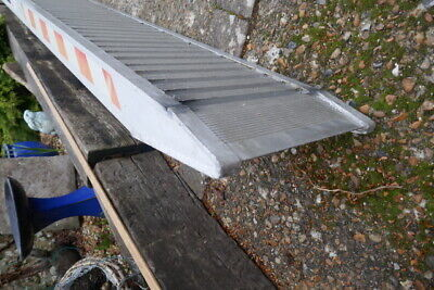 Heavy Duty Trailer Ramps 8ft Aluminium To Suit Ifor Williams 3300kg Capacity • 275£