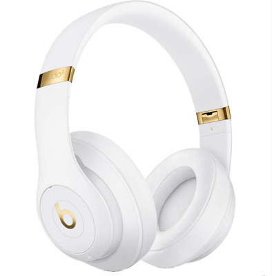 Beats By Dr. Dre Studio3 Wireless Bluetooth Over-Ear Headphones - White • 189.99£