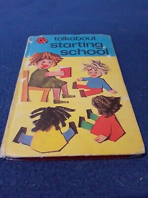 Vintage Ladybird Book - Talkabout Series - Starting School-used Condition - 1977 • 1£