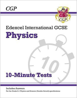 Edexcel IGCSE Physics 10-Minute Tests (Ages 14-16) By CGP 9781789080872 • 6.28£