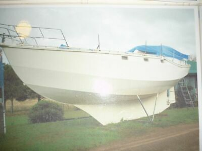 AU6500 • Buy 36 Foot Yacht New Motor Plus Many Other New Parts No Reserve Must Be Sold