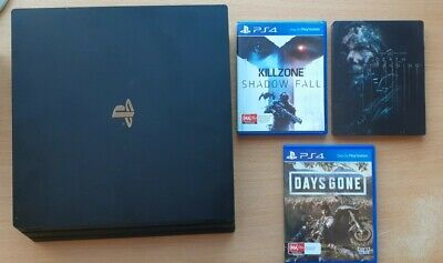 AU250 • Buy Sony PlayStation 4 Pro 1TB Black Console + 3 Games
