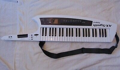 AU722.35 • Buy Roland AX Synth Shoulder Synthesiser - Used 6 Times In Excellent Condition