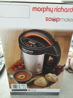 Morphy Richards 48822 Soup/ Juice Maker Smooth-Chunky  1.6 Litre Never Been Used • 19£