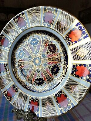 Royal Crown Derby Imari 1128 Dinner Plate, 2nd Quality, Excellent Condition.  • 30£