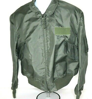 $ CDN86 • Buy US Military Issued Flyers Bomber Jacket CWU-36P Size XL Fire Resistant Aramid