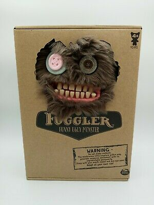 $ CDN38.02 • Buy Spin Master FUGGLER Funny Ugly Monster Brown Fuzzy Sasquoosh Brand New Rare