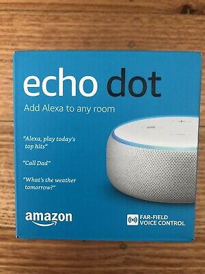AU39 • Buy Amazon Echo Dot (3rd Generation) Smart Assistant - Brand New In Box