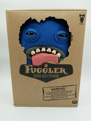 $ CDN25.36 • Buy Fuggler Funny Ugly Monster Blue Oogha Boogah Plush Monster With Teeth