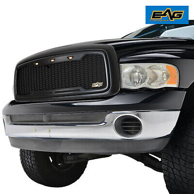 $189.99 • Buy EAG Main Upper Grille LED Grill Replacement Fit 02-05 Dodge Ram 2500 3500