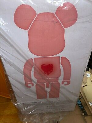 $3000 • Buy Emotionally Unavailable Red Heart Bearbrick 1000% *READY TO SHIP*