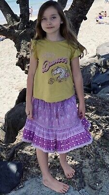 AU89 • Buy Spell Designs BNWT Child Oracle Mini Skirt Lilac Age/Size 8 Years Still In Pack